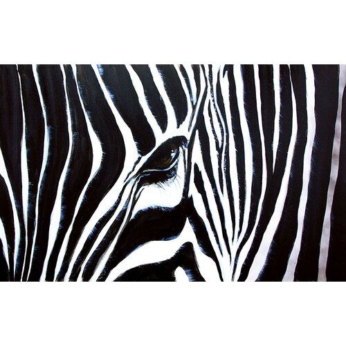 Kenyan Mare by Nathalie Viens Painting Print on Canvas