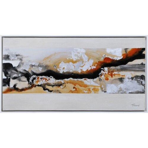 Mariana's Trench by Pierrick Paradis Original Painting on Canvas