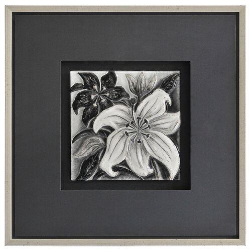 Shades of Gray I by Dominic Lecavalier Framed Painting Print