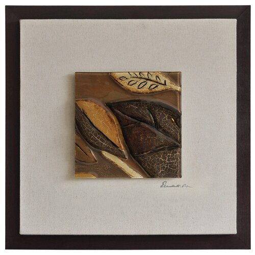 Ren-Wil Shimmering Leaves I by Dominic Lecavalier Framed Painting Print