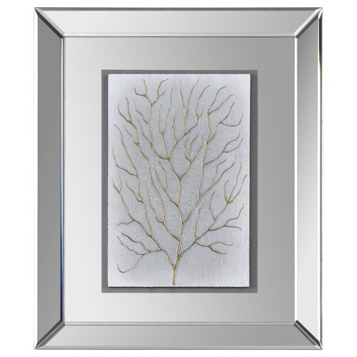 Branching Out I Framed Graphic Art