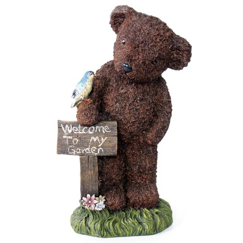 Welcome Bear Statue