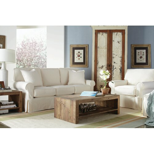 Rowe Furniture Nantucket Slipcovered Sofa Amp Reviews Wayfair