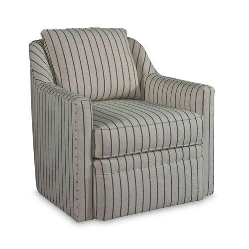 Contemporary accent arm chair wayfair for Swivel accent chairs with arms