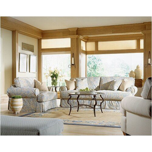 Rowe Furniture Montecristo Addison Convertible Loveseat