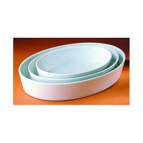 Pillivuyt Small 60 oz. Deep Oval Baker