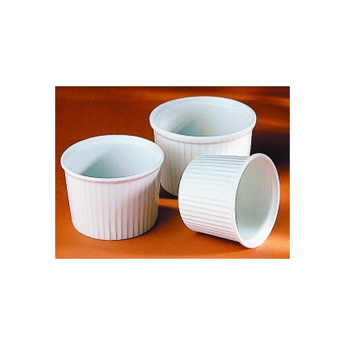Pillivuyt 7 oz. Deep Pleated Ramekin