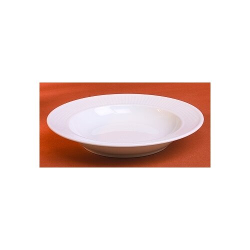 Pillivuyt Plisse 8 oz. Soup Plate