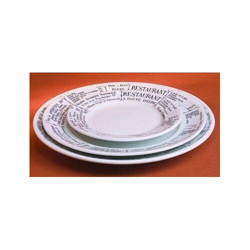 """Pillivuyt Brasserie 10.5"""" Plate"""