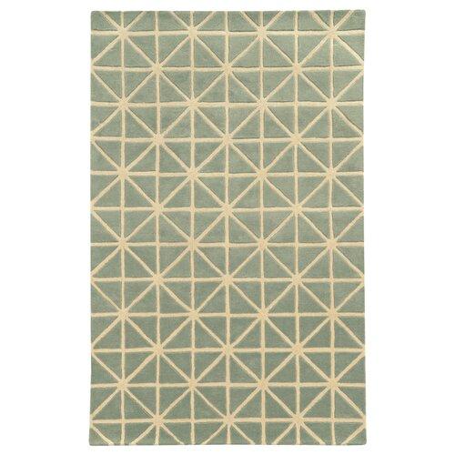Optic Grey / Ivory Geometric Rug
