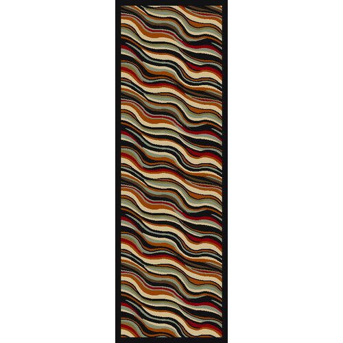 Ottohome Black Weaves Rug