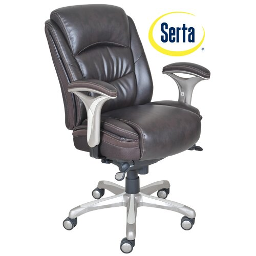 Serta At Home Harmony High Back Manager Office Chair Reviews Wayfair
