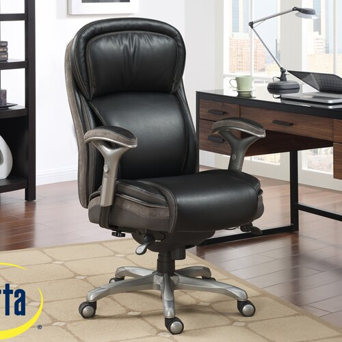 Serta At Home Blissfully High Back Manager Office Chair AIR Technology