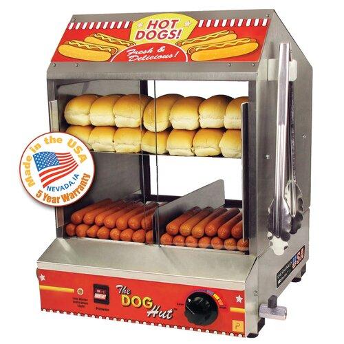 Dog Hut Hot Dog Steamer