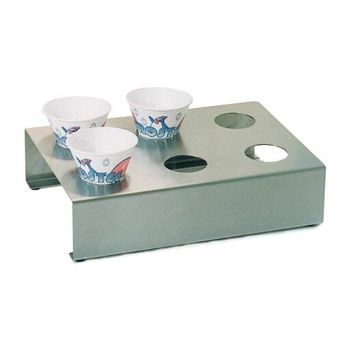Paragon International Stainless Steel Sno Cone Holder