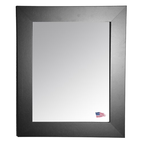 Ava Black Tie Wall Mirror