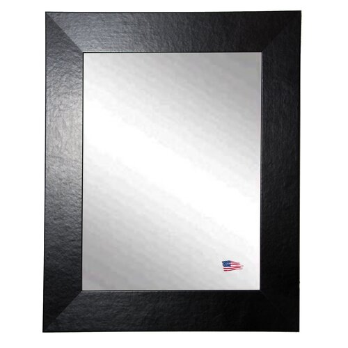 Ava Wide Leather Wall Mirror