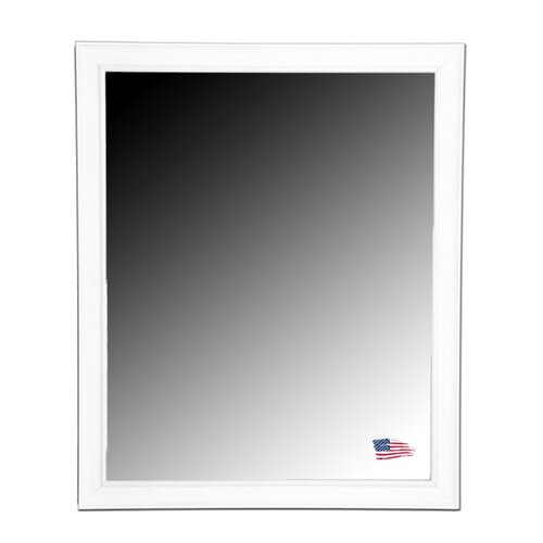 Ava Country White Wall Mirror