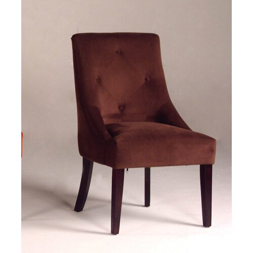Bernards Microfiber Parsons Chair