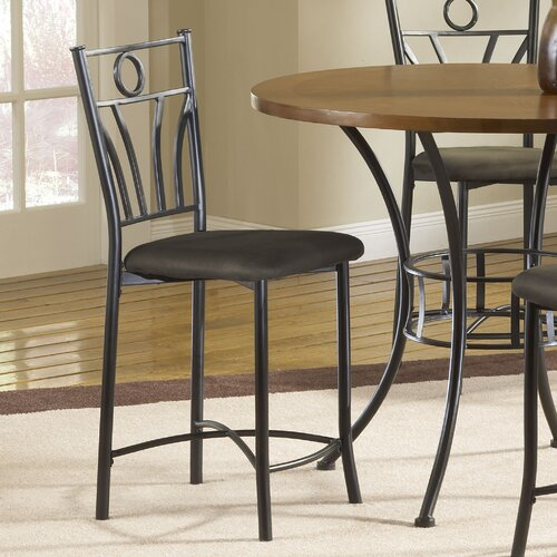 Dakota Bar Stool with Cushion (Set of 2)