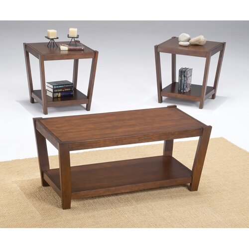 Bernards Sabre 3 Piece Coffee Table Set