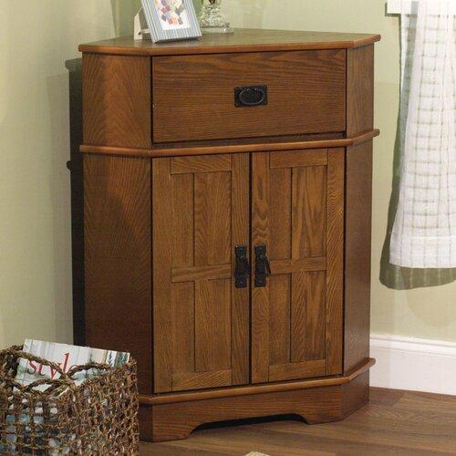 Mission 1 Drawer Corner Cabinet