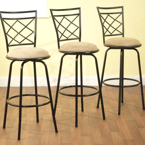 Avery Adjustable Bar Stools (Set of 3)