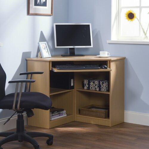 Brown Corner Computer Desk | Wayfair