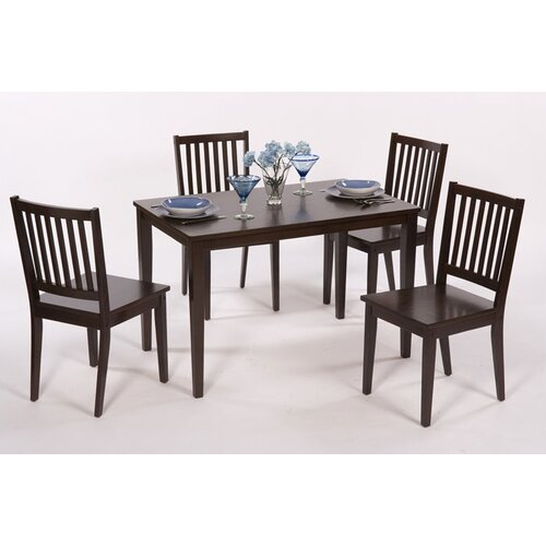 TMS Shaker 5 Piece Dining Set