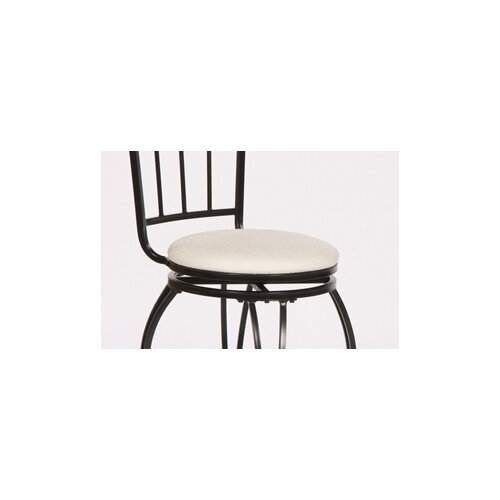 TMS Gabriella Swivel Bar Stool with Cushion