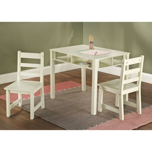 TMS Kids' 3 Piece Table and Chair Set