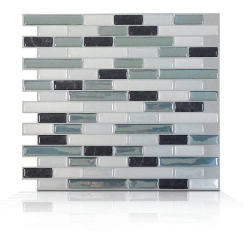 Mosaik Self Adhesive Wall Tile in Muretto Brina