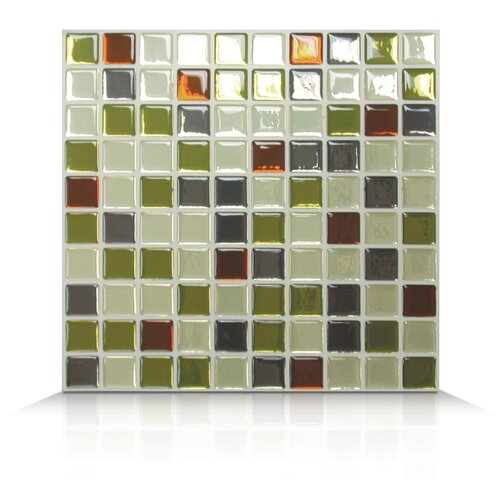 Mosaik Self Adhesive Wall Tile in Idaho (Set of 6)
