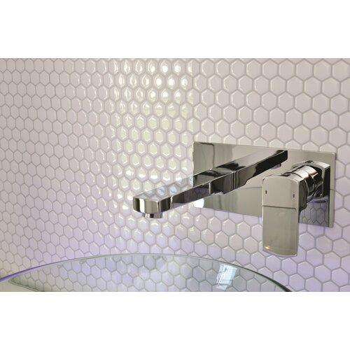 Mosaik Self Adhesive Wall Tile in Hexago (Set of 6)