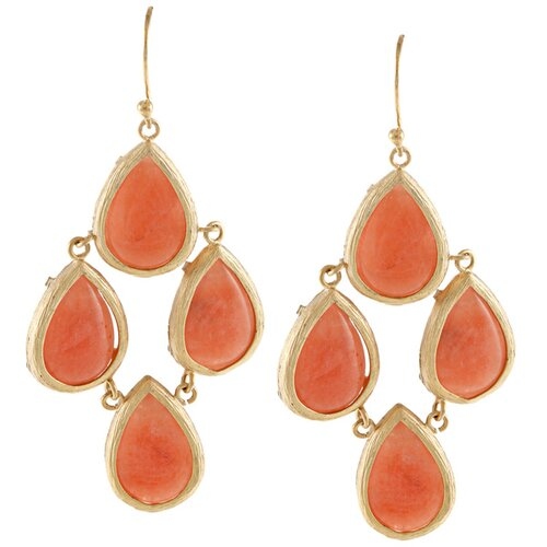 Teardrop Chandelier Drop Earrings