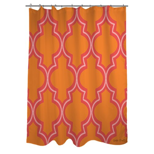 Ogee Dots Shower Curtain