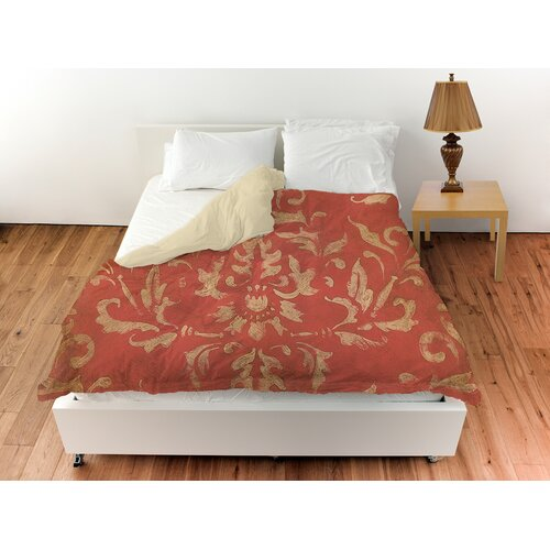 Golden Baroque Duvet Cover