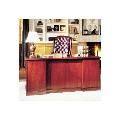 "High Point Furniture Legacy 72"" Single Pedestal Executive Desk"