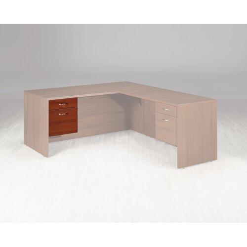 "High Point Furniture Hyperwork 17.75"" H x 15.75"" W Desk Pedestal"