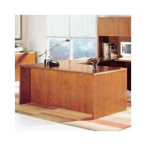 "High Point Furniture Forte 72"" W Executive Desk Shell"