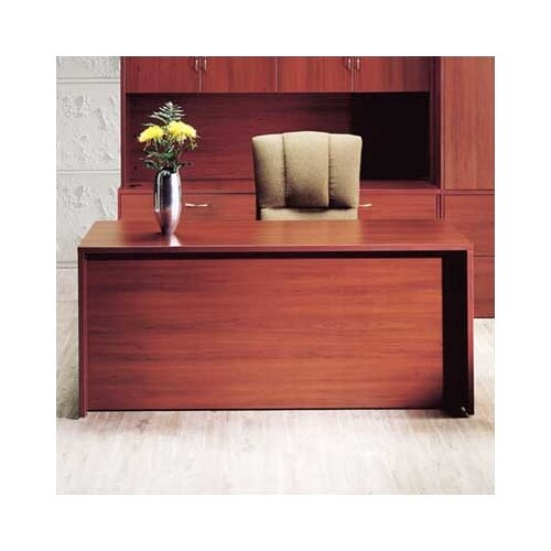 "High Point Furniture Hyperwork 66"" W Single Pedestal Credenza"