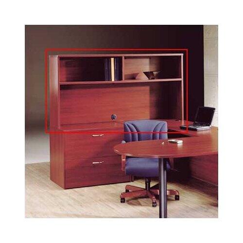 "High Point Furniture Hyperwork 36.5"" H x 72"" W Desk Hutch"