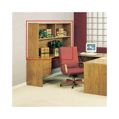 "High Point Furniture Bravo Panel 36.5"" H x 64"" W Desk Hutch"