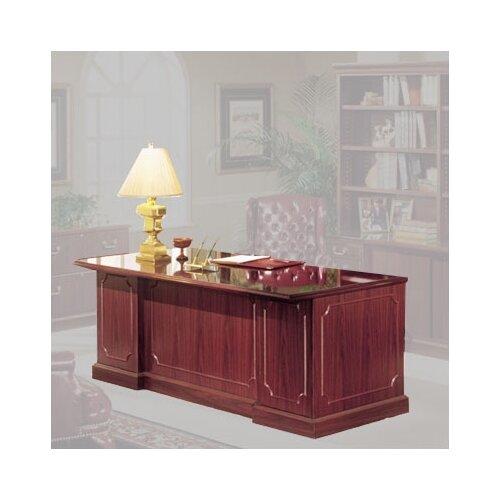 "High Point Furniture Bedford 66"" Single Pedestal Executive Desk"
