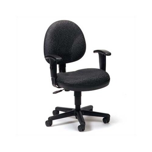 High Point Furniture Mid-Back Task Chair with Arms