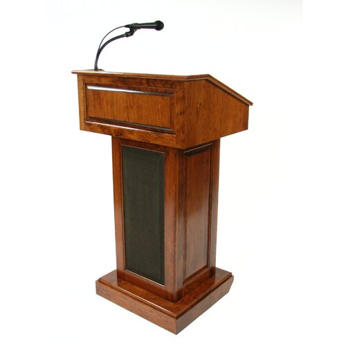 Executive Wood Products Counselor Evolution Sound System Full Podium