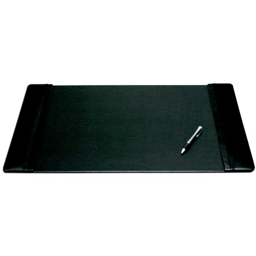 "Dacasso Leather 22"" x 14"" Side-Rail Desk Pad"
