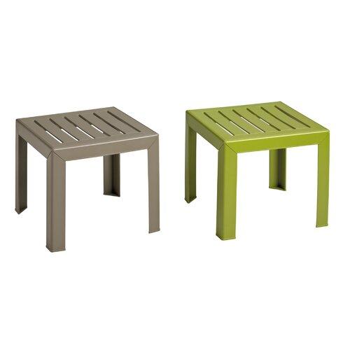 Grosfillex Commercial Resin Furniture Bahia Side Table