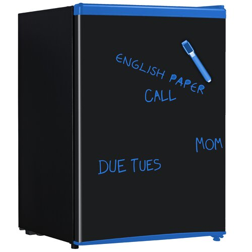 2.8 Cu. Ft. Chalkboard Compact Refrigerator