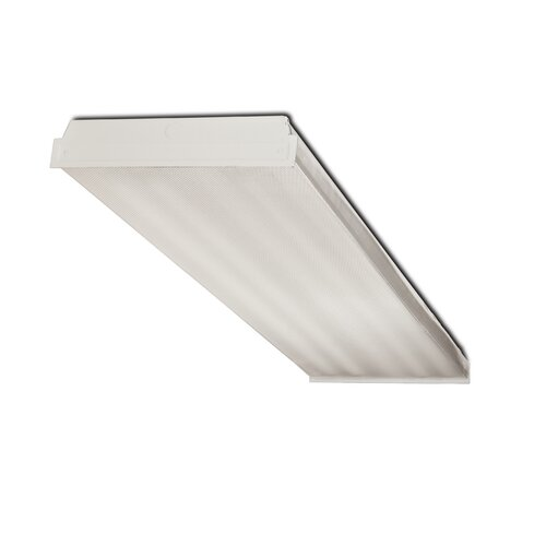 4 Light Fluorescent Wrap Light Fixture